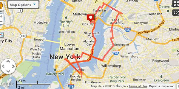 the 6 best running routes in new york city