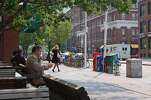 Kendall Square at Cambridge Center, a view of ...