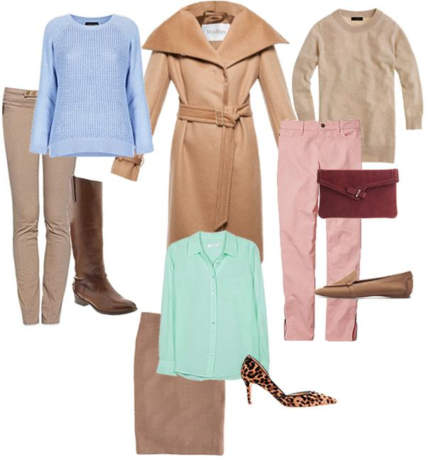 How To Wear Pastels For Fall