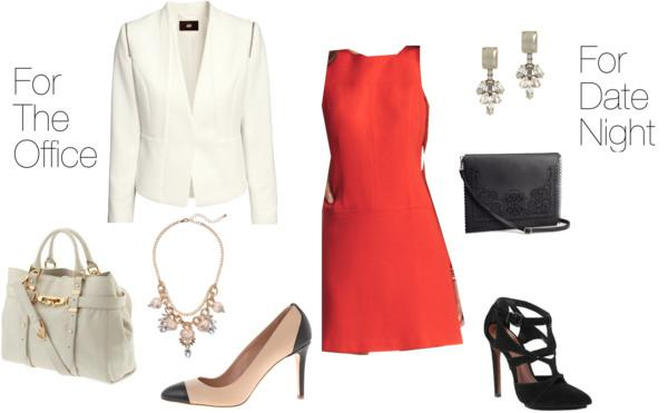 Red Dress Two Ways