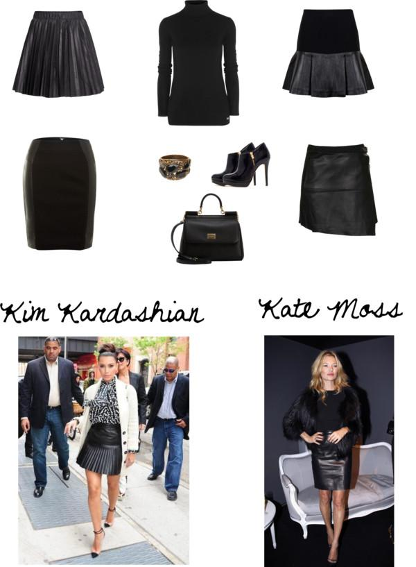 Let's Go Shopping For A Leather Skirt