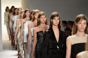 Calvin Klein Collection, Spring 2013 Mercedes-Benz Fashion Week, photo by Mike Coppola/Getty Images