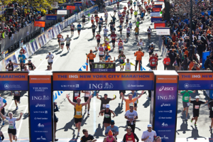 ING New York City Marathon, photo courtesy NYRR