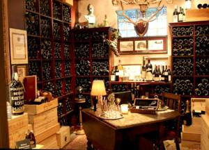 The restaurant has a 25,500-bottle wine cellar. Photo courtesy The Herbfarm.