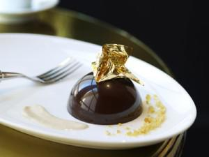 Imperial chocolate dessert. Photo courtesy Dorchester Collection.