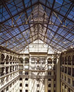 Inside the Old Post Office Pavilion. Photo courtesy of Carol M. Highsmith.