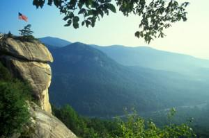 The Chimney at Chimney Rock State Park. Photo courtesy of Bill Russ and VisitNC.com