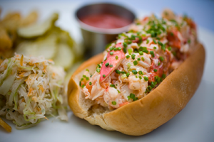 Lobster Roll at B&G Oysters, photo courtesy www.justinide.com