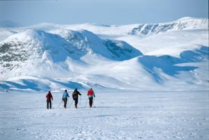 Cross country skiing in Norway, photo courtesy Terje Rakke-Nordiclife, Visitnorway.com