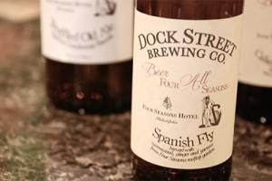 Dock Street Brewing's Spanish Fly, photo courtesy Four Seasons