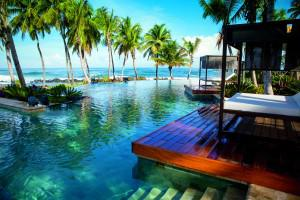 Infinity edge pool at Dorado Beach, a Ritz-Carlton Reserve, photo credit Forbes Image