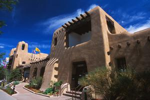 New Mexico Museum of Art, photo courtesy Santa Fe Convention and Visitors Bureau, Chris Corrie