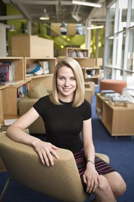 Marissa Mayer photographed on the Google campus in Mountainview, CA
