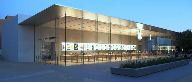 spectacular new apple store design unveiled. Black Bedroom Furniture Sets. Home Design Ideas