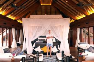 The Master Suite at Necker Island