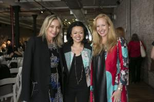Claudia Chan, Founder, S.H.E. Global Media; Lubov Azria, Chief Creative Officer, BCBGMAXAZRIAGROUP;... [+] and Alexandra Wilkis Wilson, CoFounder, Gilt