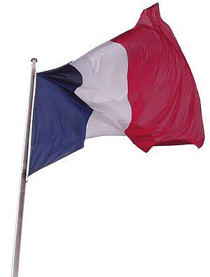 French tricolour flag, the ″Tricolore″