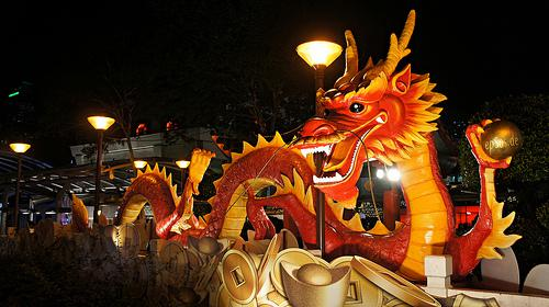 Flickr Chinese Dragon Year Statue