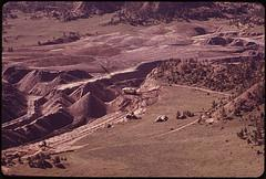 Peabody Coal Company strip mine, south of Cols...