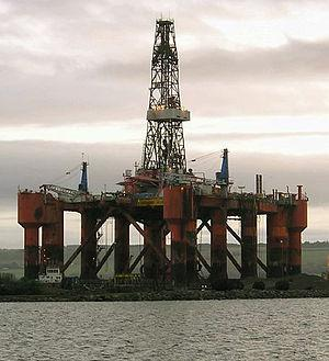 English: Transocean Wildcat (Aker H-3 design) ...