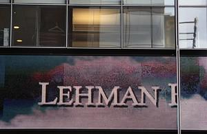 The outside of Lehman Brothers headquarters is...