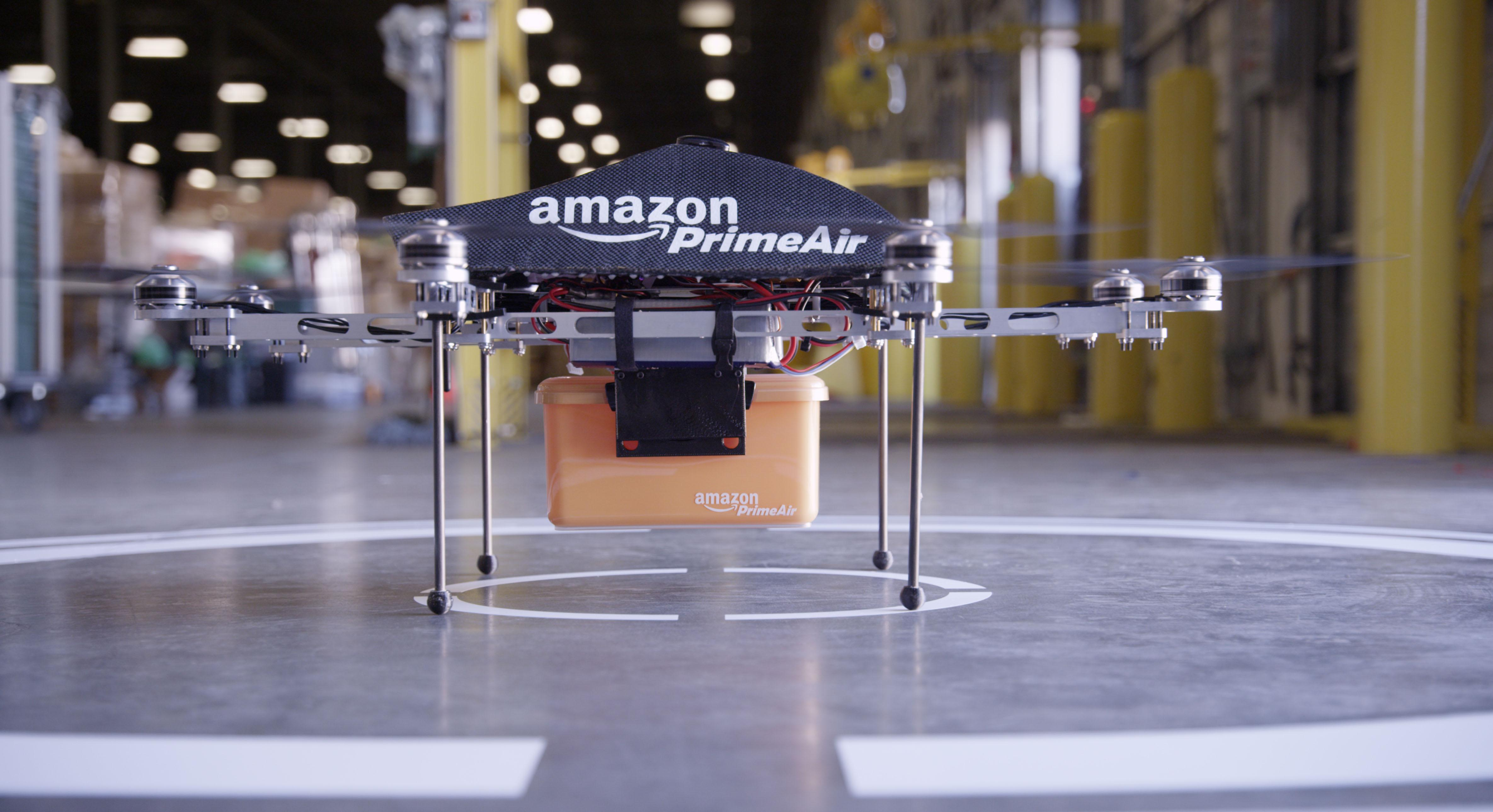 By 2015, Amazon cliams that their Prime Air drones will be ready to deliver products within 30 minutes so long as the FAA allows it.
