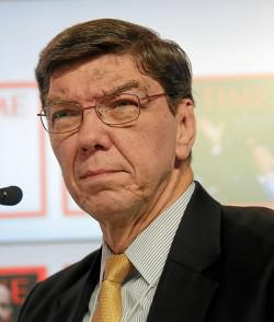 Professor Clayton Christensen found that even the best run businesses can be disrupted (photo credit: Wikipedia)