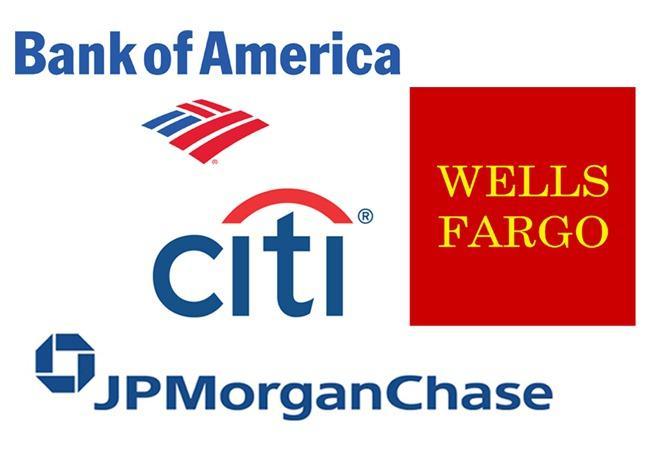 America S Biggest Banks Jpmorgan Wells Fargo Keep