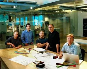 Steve Jobs Working With a Great Team