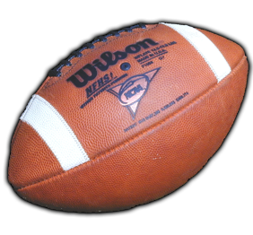 Ball used in College football