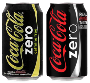 Dutch can of Coca-Cola zero caffeine free next...