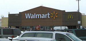 A recently renovated Walmart store in Clinton,...