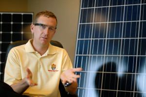 Sullivan Solar's Michael Chagala is writing several apps for his company's field technicians.