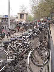 China - Beijing 18 - bicycles by the thousand