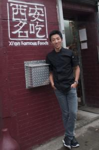 Jason Wang, the 25-year-old co-owner of Xi'an Famous Foods in New York.