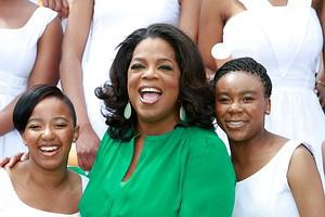 MEYERTON, HENLEY ON KLIP - JANUARY 14:  Oprah ...