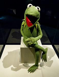 American icon and Sesame Steet star Kermit the...