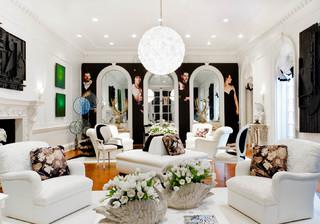 10 Fabulously Fanciful Living Rooms