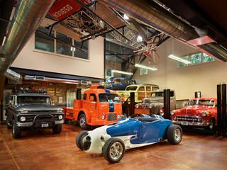 Peek inside an incredible car collector 39 s garage in seattle for Car collector garage plans