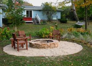 Build A Backyard Fire Pit For Less Than $500