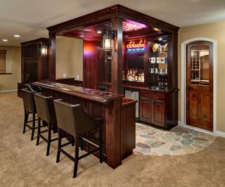 Bottoms Up: 10 Amazing Home Bars