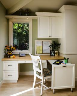 Dealing With Built In Kitchens For Small Spaces Make The Most Of A Small Home Office