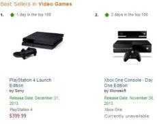 Amazon Sold Out Of Launch Day PS4s And Xbox Ones