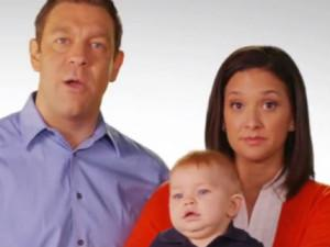 U.S. Rep. Trey Radel (R-Fla.) and his family (Image: Radel campaign ad)