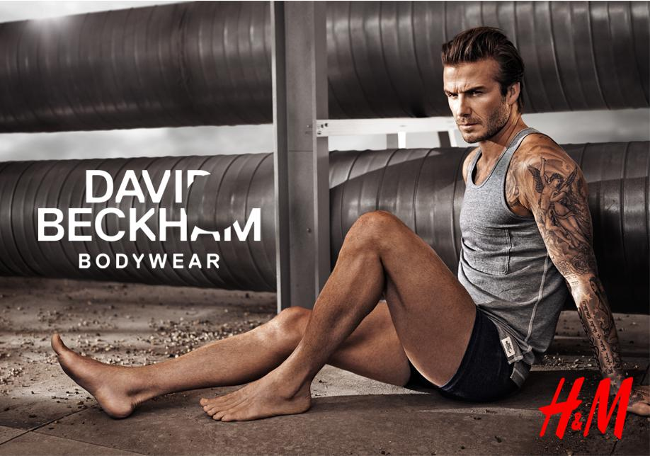 beckham commercial David