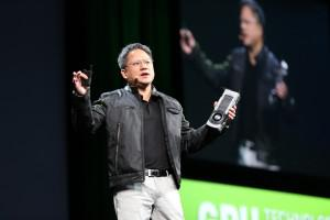 NVIDIA CEO Jen-Hsun Huang discussing the Titan at the annual GPU Technology Conference