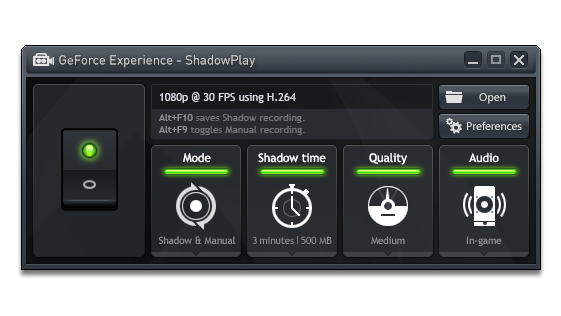NVIDIA's 'ShadowPlay' Brings Effortless Gameplay Recording To The PC Masses