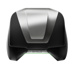 NVIDIA SHIELD with closed lid