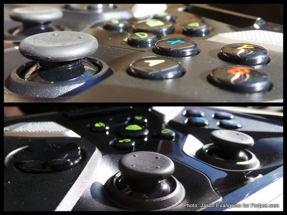 A closer look at the SHIELD controller | Photos: Jason Evangelho