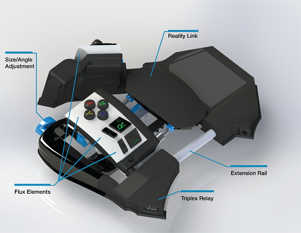 Meet Sinister, A Haptic PC Gaming Device With Embedded ViviTouch Technology